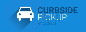Curbside Pickup Sign Template