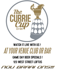 CURRIE CUP SA AD
