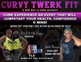 Curvy fit flyer
