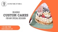 Custom Cakes Digitale Vertoning (16:9) template