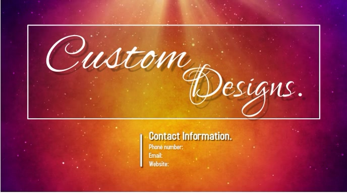 custom designs Tampilan Digital (16:9) template