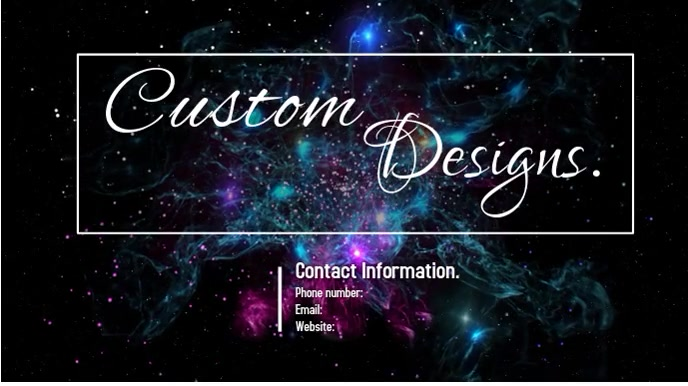 custom designs Digitale display (16:9) template