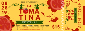 Custom La Tomatina Ticket Template