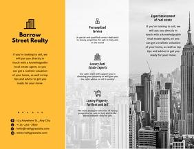 Custom Modern Metropolitan Real Estate Agency