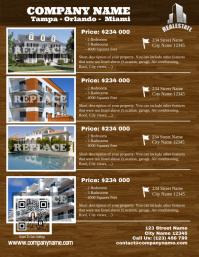 Custom real estate flyer - Letter sized