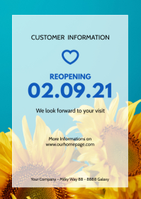 Customer Information letter Reopening Store N