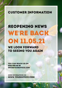 customer information reopening opening news