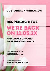 customer information reopening opening news