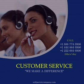 CUSTOMER SERVICE VIDEO FLYER