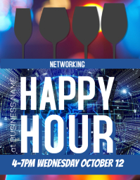 Customize this Business Networking Happy Hour