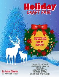 Customize this Holiday Craft Fair Template