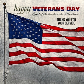 Customize Veterans Day Instagram Template