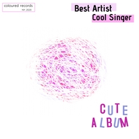 Cute Abstract Colour Album Cover template