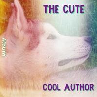 Cute Dog Album Singer Cover template