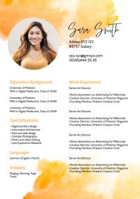 CV Lebenslauf Skil Card Job curriculum vitae