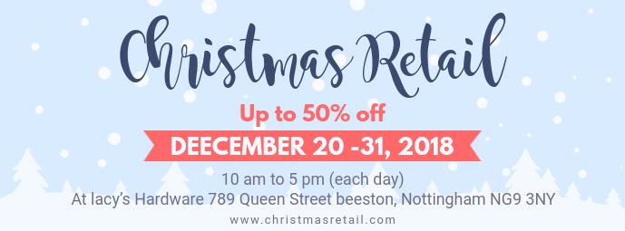 Cyan Holidays Retail Advert Facebook Cover
