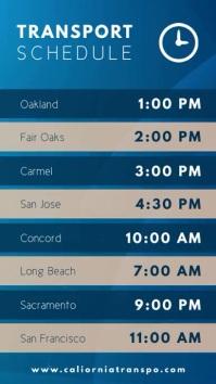 Cyan Travel Schedule