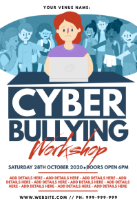 Cyber Bullying Workshop Poster