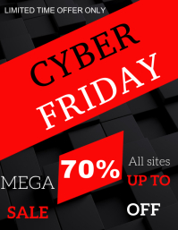 Cyber Friday Flyer Template