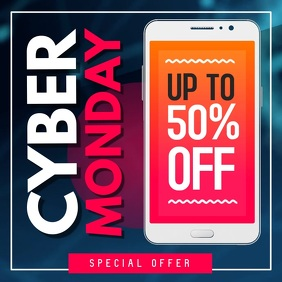 Cyber Monday Ad Square Video