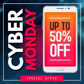 Cyber Monday Ad Square Video