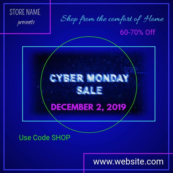 Cyber Monday Digital Ad