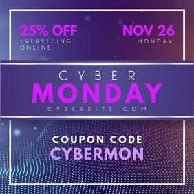 Cyber Monday Digital Advert Design