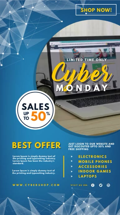 Cyber Monday Digital Display Sign