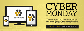 Cyber Monday Electronics Sale Banner