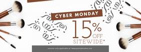 Cyber Monday Fashion Sale Banner