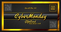 Cyber Monday Gift Card Template Facebook Shared Image