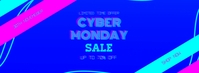 Cyber Monday Sale Facebook Cover template
