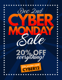 Cyber Monday Sale Flyer