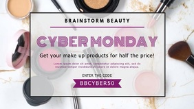 Cyber Monday Sale on Makeup Facebook Cover Video