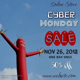 Cyber Monday Sale Video