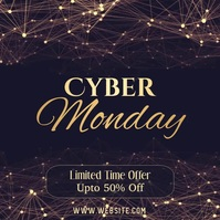 Cyber Monday Sale Video Instagram template