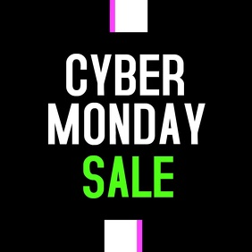 Cyber Monday Sale Video Post