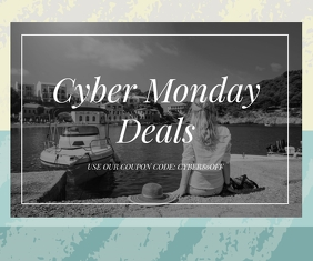 Cyber Monday Special Deal Advertisement