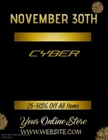 Cyber Monday Video Flyer
