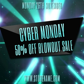 Cyber Monday Video Promo Template