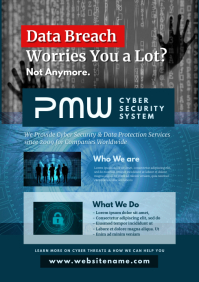 Cyber Security Company Flyer