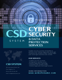 Cyber Security Flyer