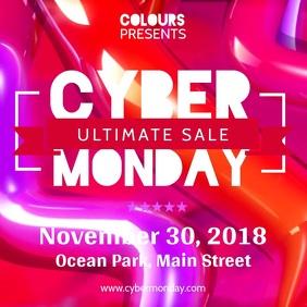Cyber Ultimate Sale Square Video