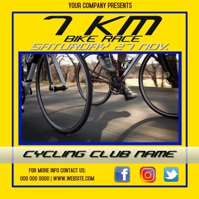 CYCLING EVENT AD
