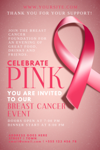Breast Cancer Template - Breast cancer brochure template free