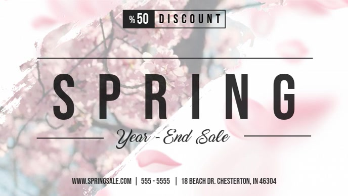 Spring Fashion Sale Video Advert