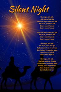 Christmas Card Silent Night