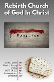 Passover Sunday