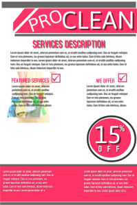 cleaning services adverts