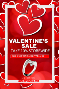 Valentine's Jewelry Sales Event Template
